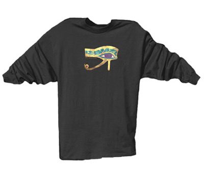 Egyptian Eye Long Sleeved TShirt
