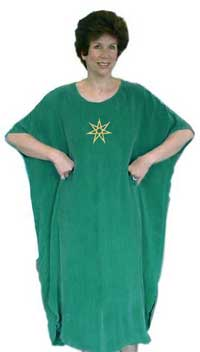 Seven Pointed Star Caftan